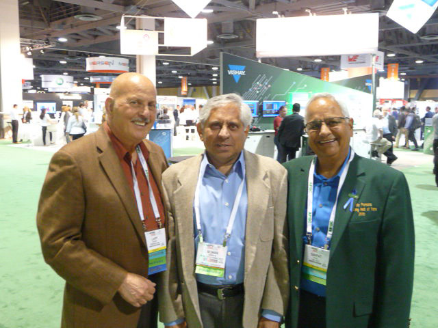 Larry Gilbert, Mohan Mankikar, and Pat Patel